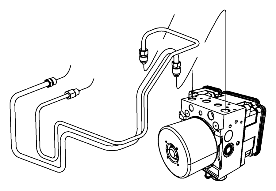 Jeep Wrangler Abs control module. Light, repair, warning