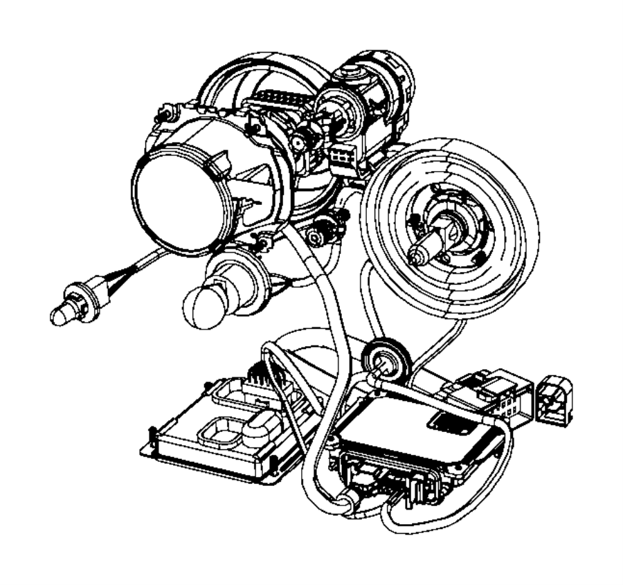 Dodge Durango Exterior BulbS. Turn, Front, Signal