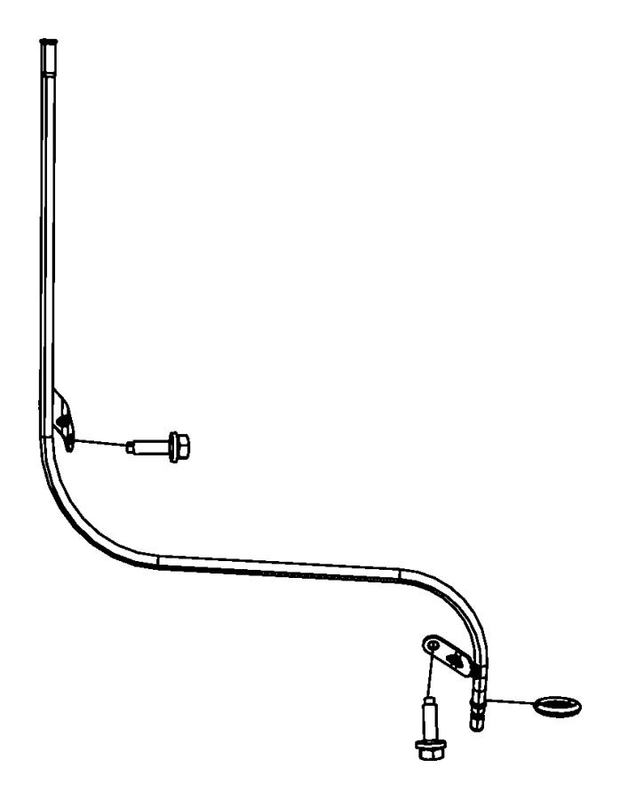 Jeep Grand Cherokee Engine Oil Dipstick Tube. 5.7 LITER. 5
