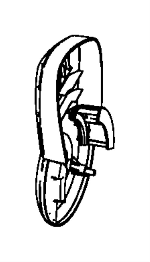 Dodge Avenger Cover. Shield. Seat. Back Recliner