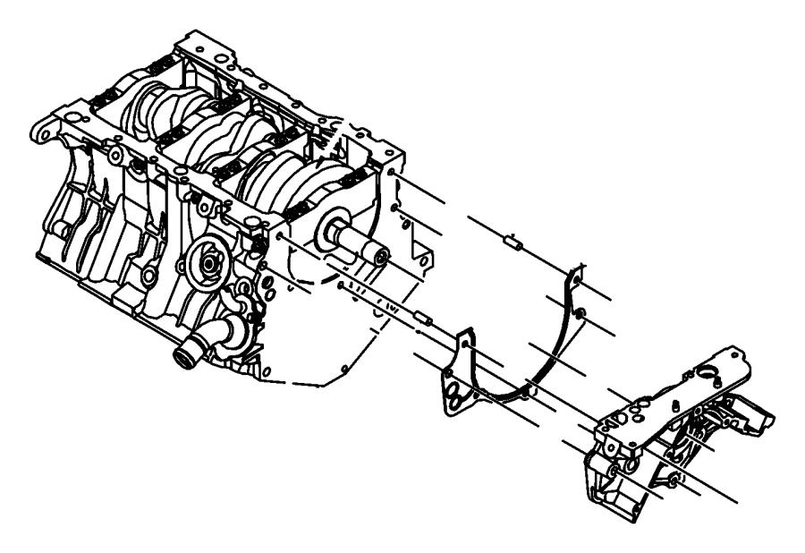 Dodge NITRO Engine Oil Pump. LITER, Pressure, BEARINGS