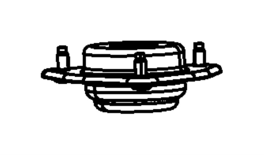 Dodge Grand Caravan Suspension Strut Mount. FRONT, CONTROL