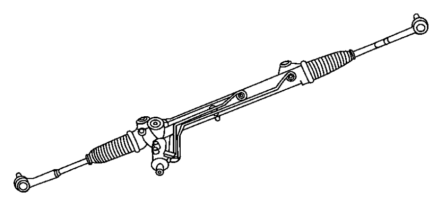 Jeep Commander Rack and Pinion Assembly. STEERING, Gear