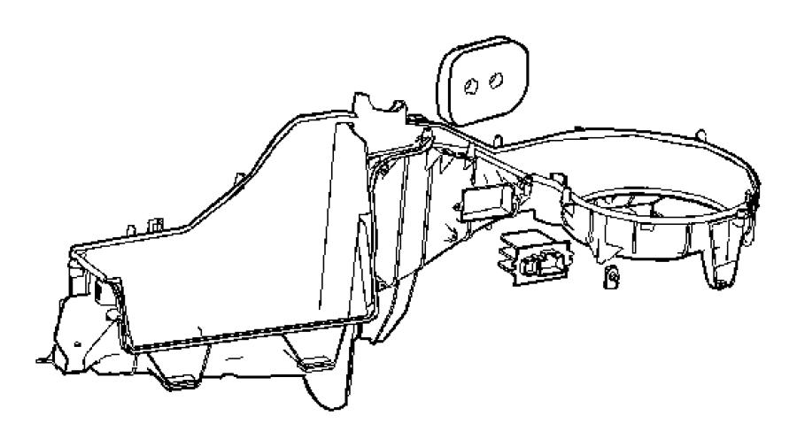 Jeep Grand Cherokee Hvac blower motor resistor. Heater