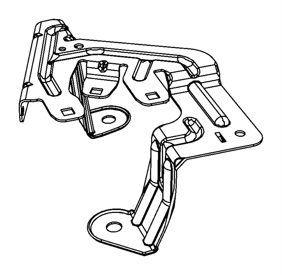 Jeep Patriot Fuse Box Bracket. UNDER HOOD. Telematics