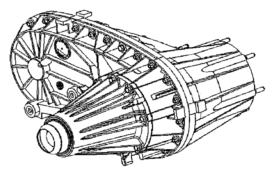 Dodge Caliber Nvg271. Shaft. Manual, trans, right