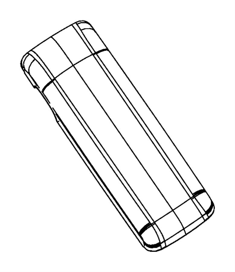 Dodge Dakota Console Lid. FULL SIZE, slate gray