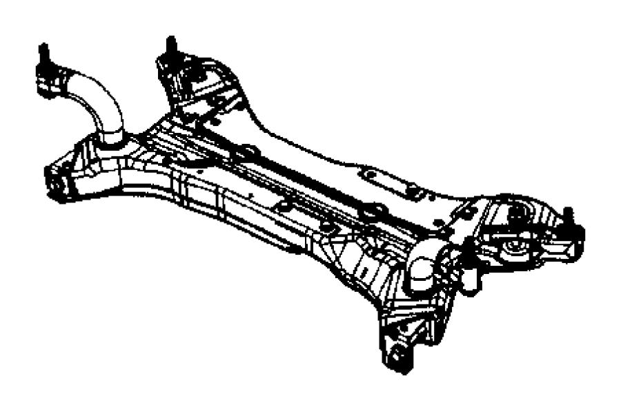 Jeep Patriot Engine Cradle. Caliber. Caliber; w/o Turbo