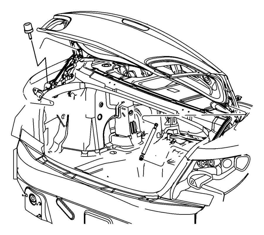Chrysler Sebring Rear Body Panel (Rear, Lower). SEDAN