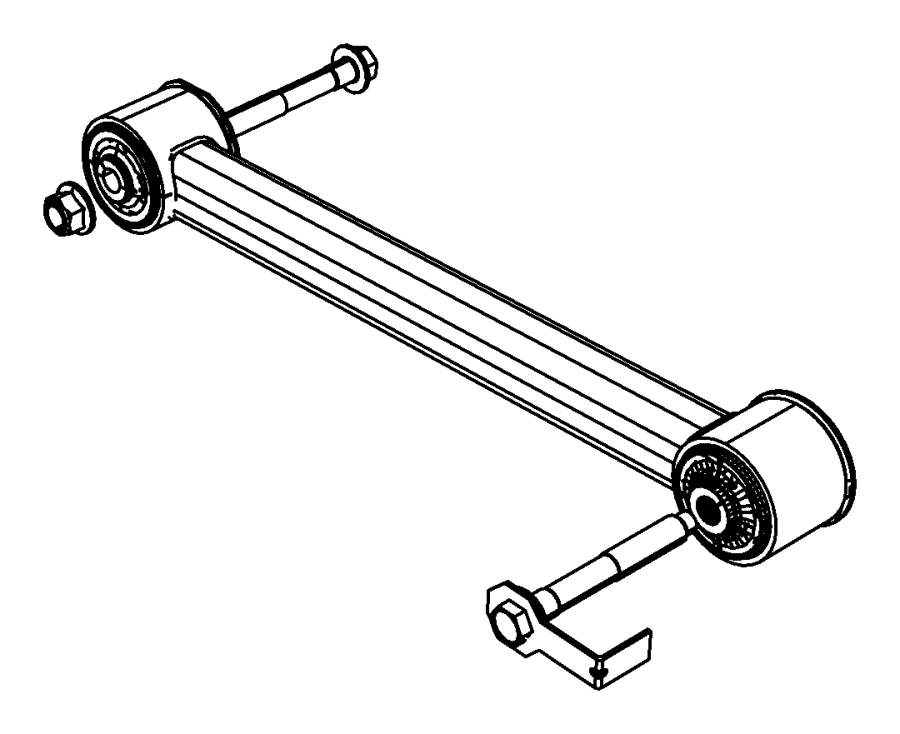 Dodge NITRO Suspension Control Arm (Front, Rear, Lower
