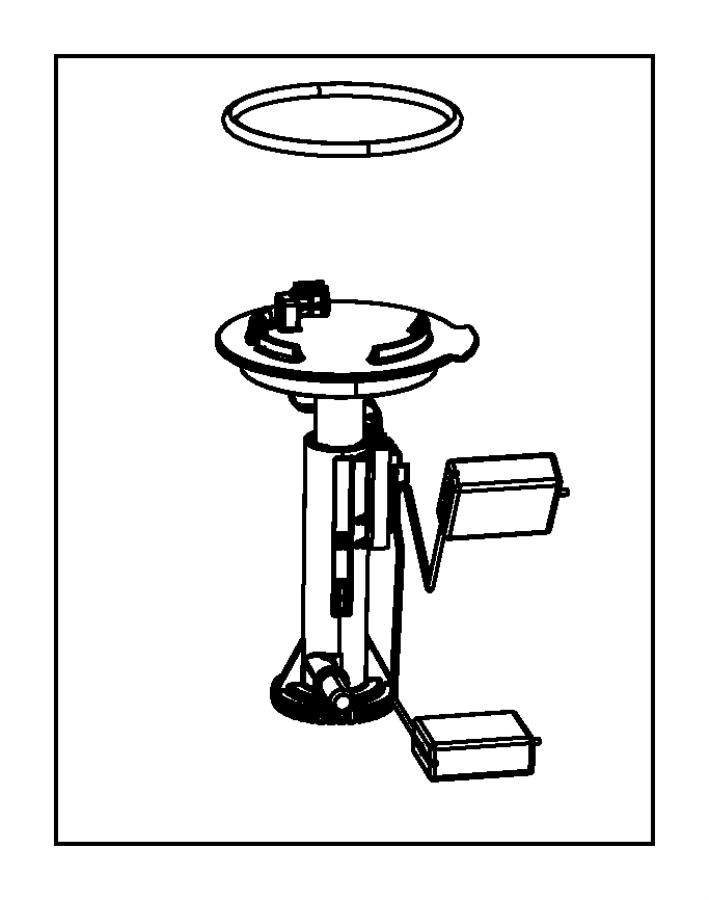 Dodge Journey Fuel. Unit. Seal. Pump. Ring. Auxilary