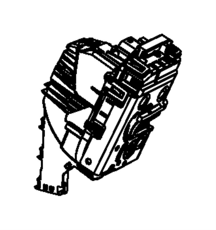 Jeep Cherokee Lock. Latch. Actuator. Door. (Rear, Upper