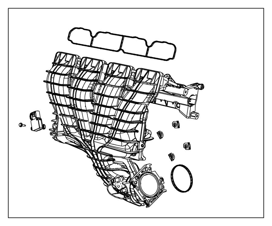 Jeep Patriot Engine Intake Manifold. LITER, Federal