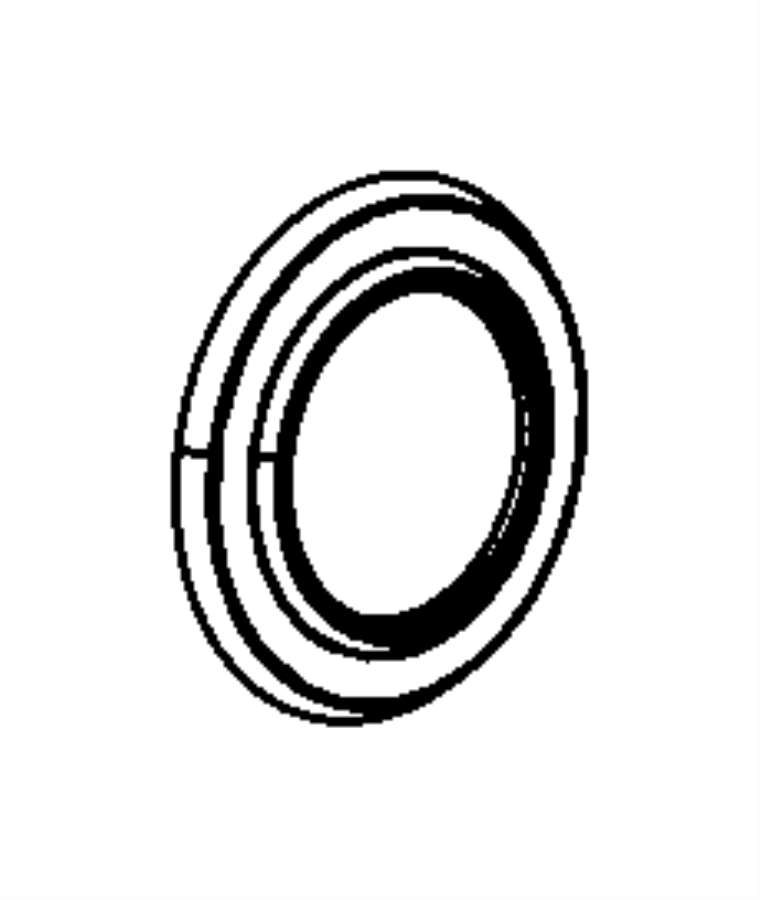 Chrysler Crossfire Drive Axle Shaft Seal. Challenger; 2.60