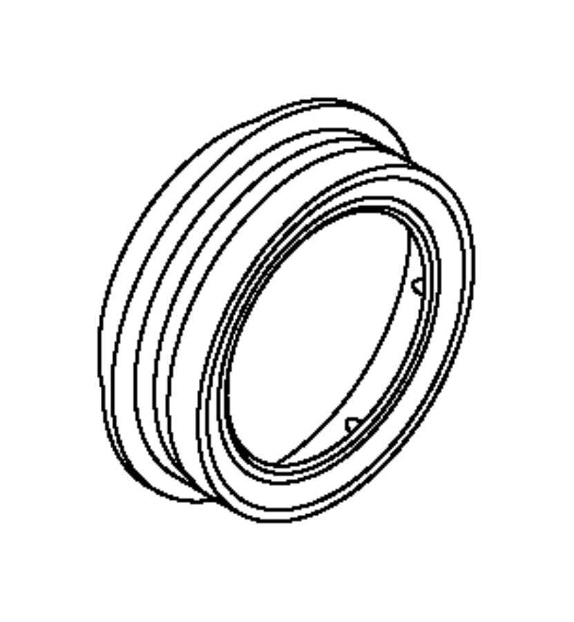 Jeep Compass Manual Transmission Output Shaft Seal