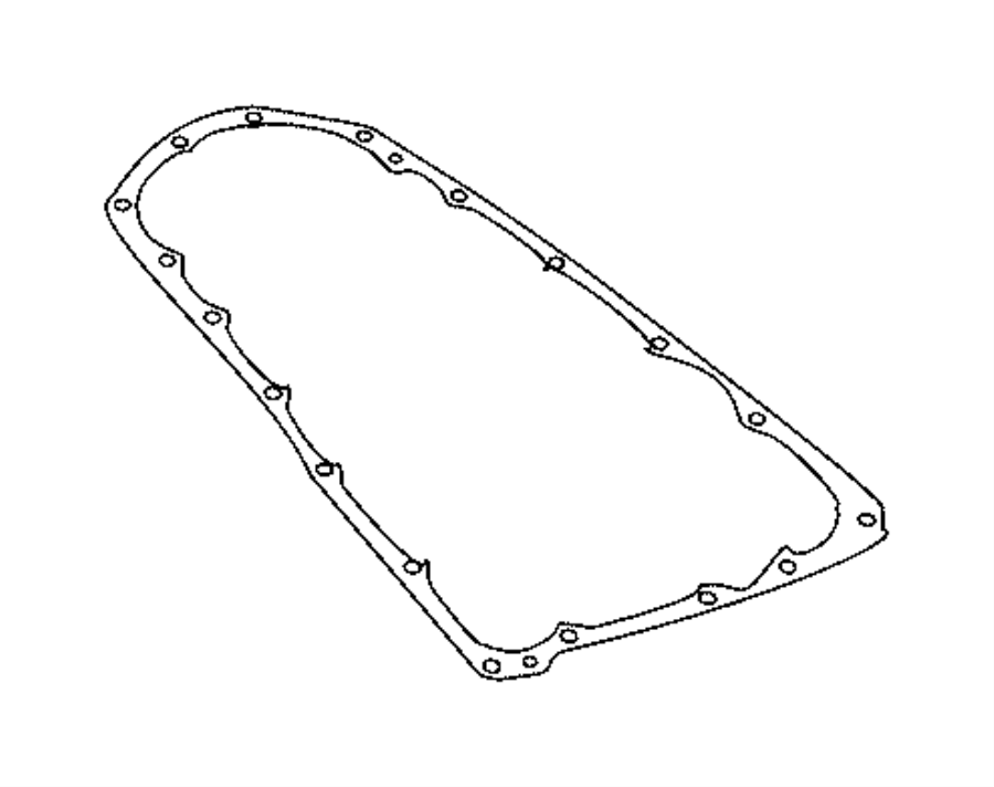 Jeep Compass Automatic Transmission Oil Pan Gasket