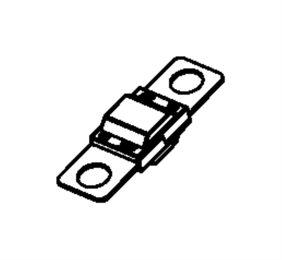 Ram ProMaster 3500 Fuse. 70 amp, midi fuse. Midi, 70 amp