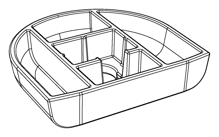 Chrysler 200 Convertible Top Stowage Compartment Storage