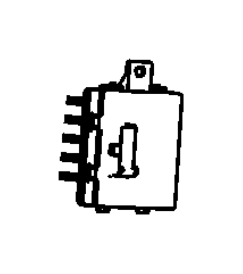 Dodge Durango Module. Resistor. Motor. HVAC. CONTROL. For