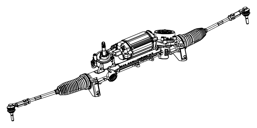 Jeep Cherokee Rack and Pinion Assembly. Steering, Gear