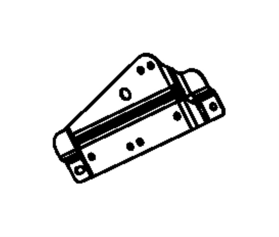 Jeep Wrangler JK Engine Wiring Harness Bracket. Telematics