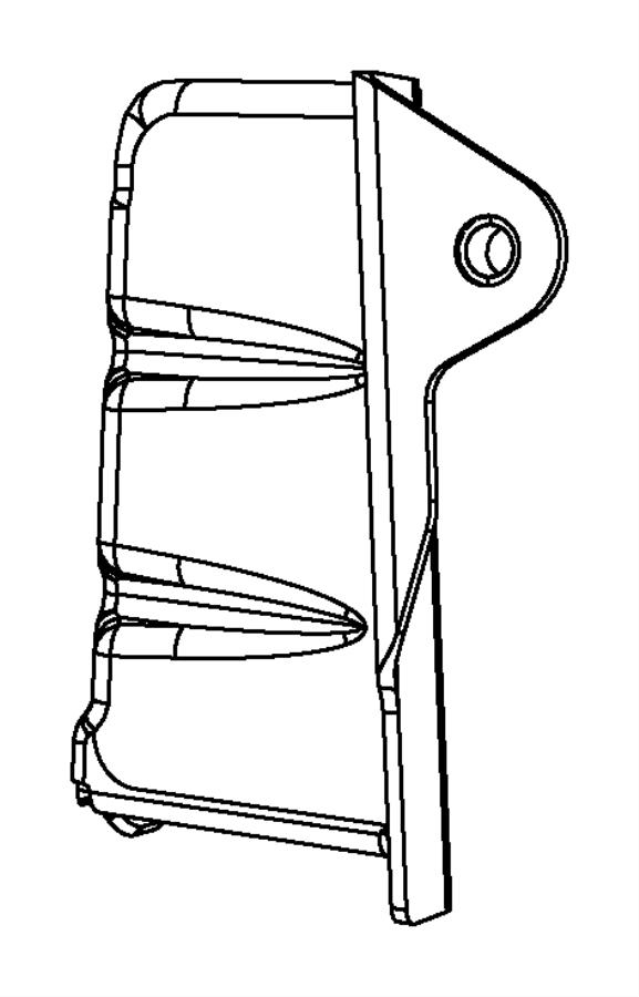 Dodge Dart Engine Timing Cover. Side, LITER, WTURBO