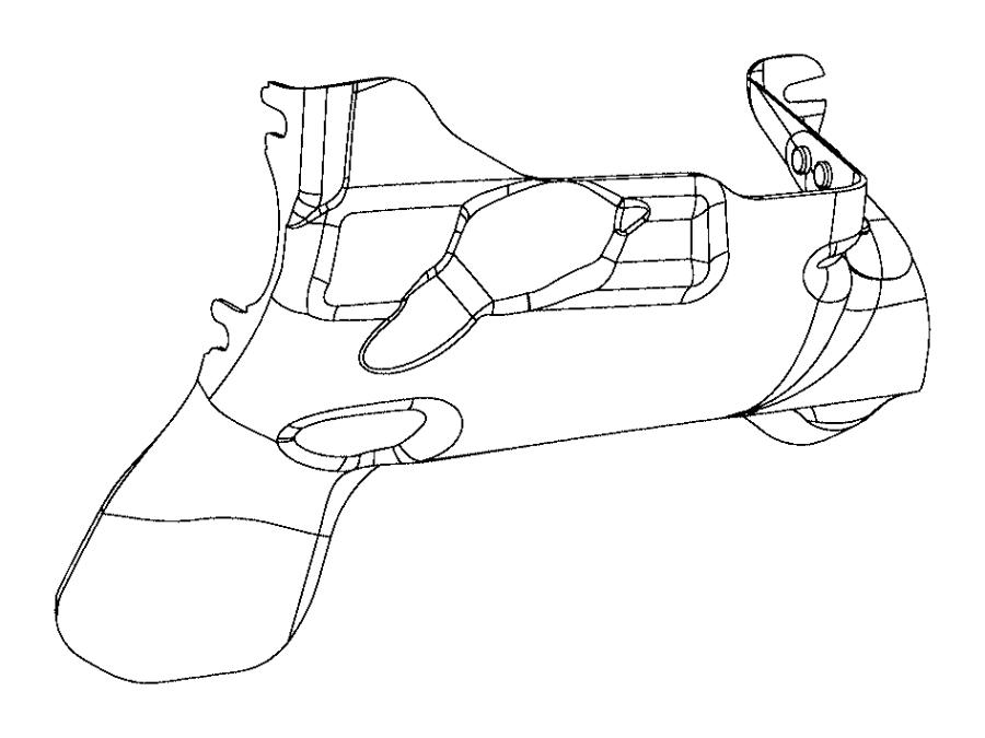 Dodge Challenger Starter Heat Shield. 6.2, 6.4 LITER. 6.4