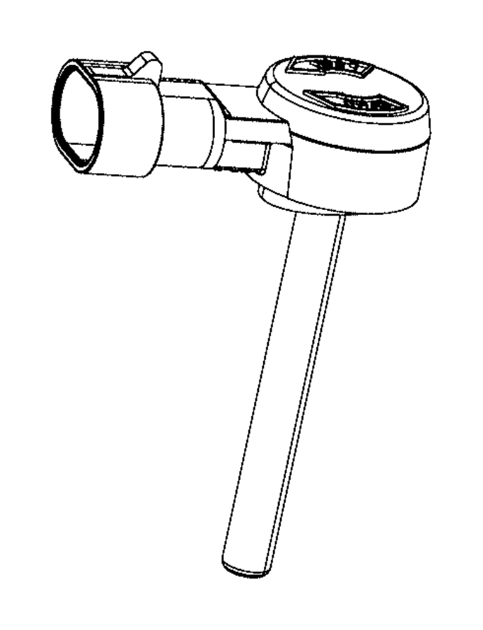Dodge Dart Brake Fluid Level Switch. Brake Fluid Level
