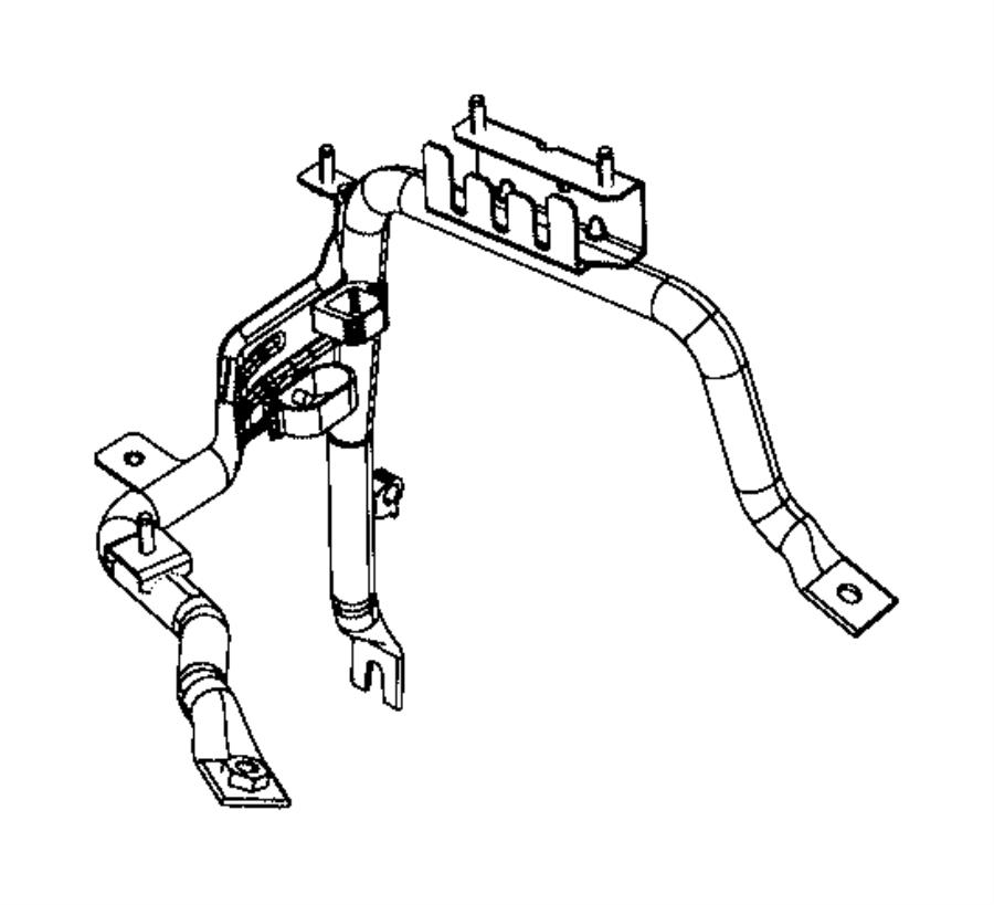 Ram ProMaster 1500 Fuse Box Bracket. Telematics, Mount