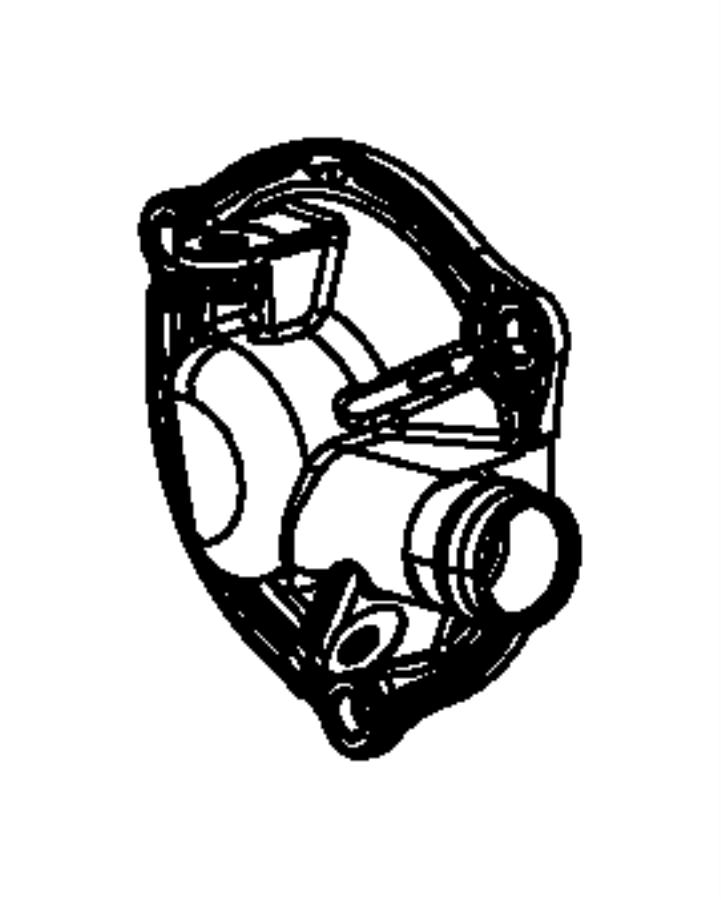 Ram 1500 Engine Oil Separator Filter. 3.0 LITER DIESEL
