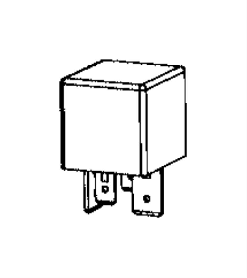 Ram ProMaster City Accessory Power Relay. ENGINE