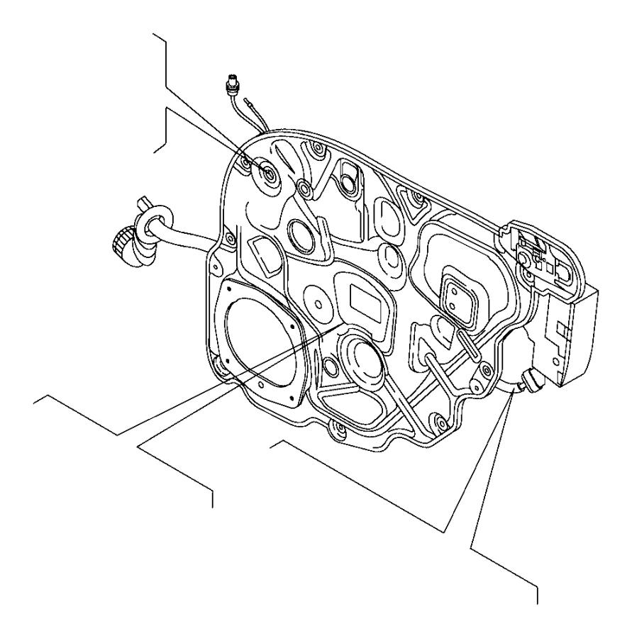 Jeep Renegade Regulator. Carrier. Power Operated. Module