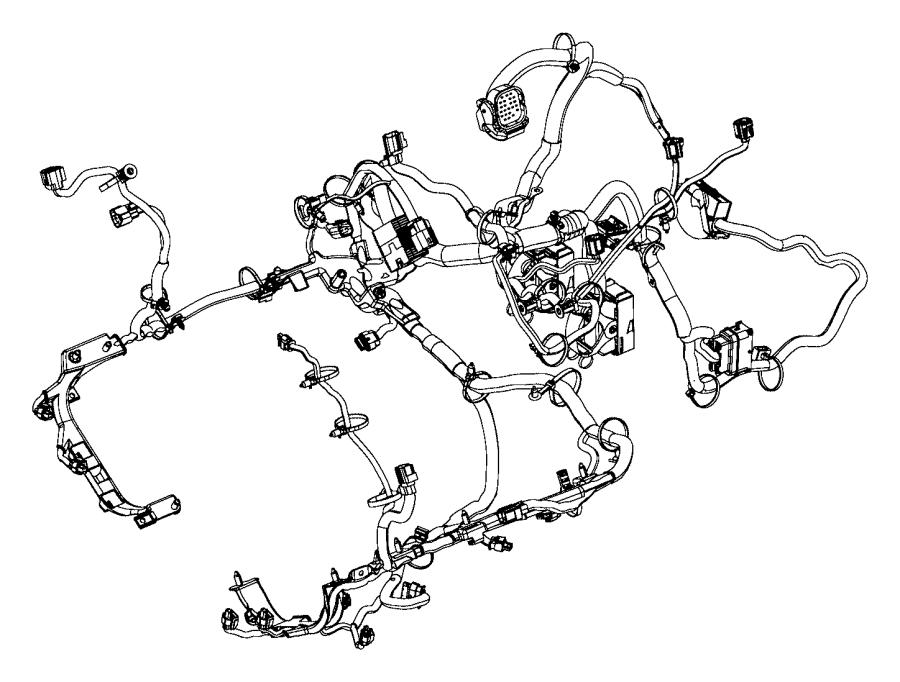 Ram ProMaster 3500 Engine Wiring Harness. 3.0 liter