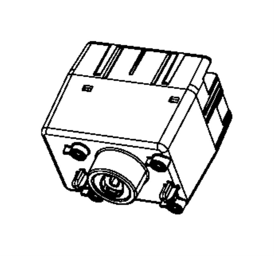 Ram C/V Receiver. Keyless Entry. Module. Tire Pressure