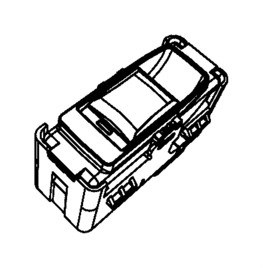 Jeep Grand Cherokee Door Window Switch. Left, REAR, Right
