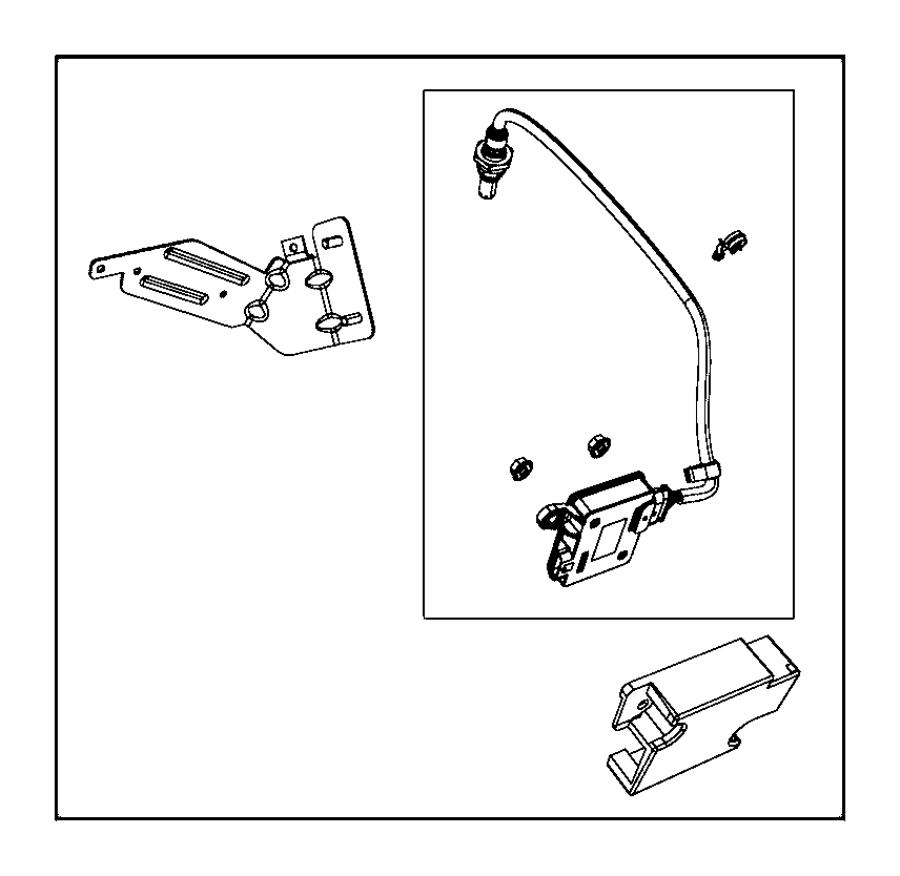 Jeep Grand Cherokee Sensor. Oxygen. OXIDE. DIESEL, front