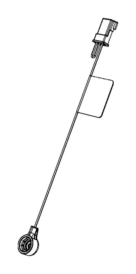 Jeep Grand Cherokee Antenna Cable. Telematics, Lighting