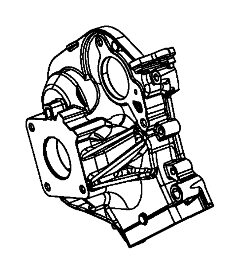 Jeep Grand Cherokee Engine Timing Cover. 3.0 LITER DIESEL