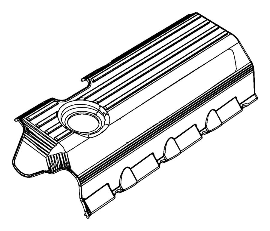 Dodge Charger Engine Cover. 6.4 LITER. 6.4 LITER, 6.4L