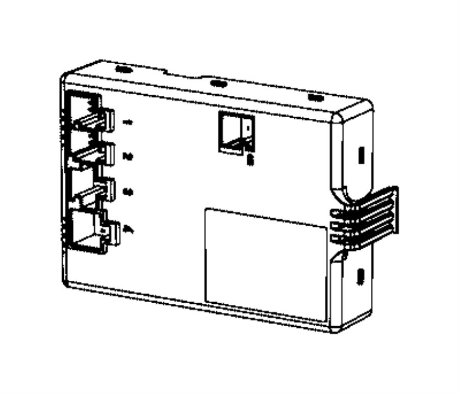 Dodge Journey Seat Heater Control Module. Replace