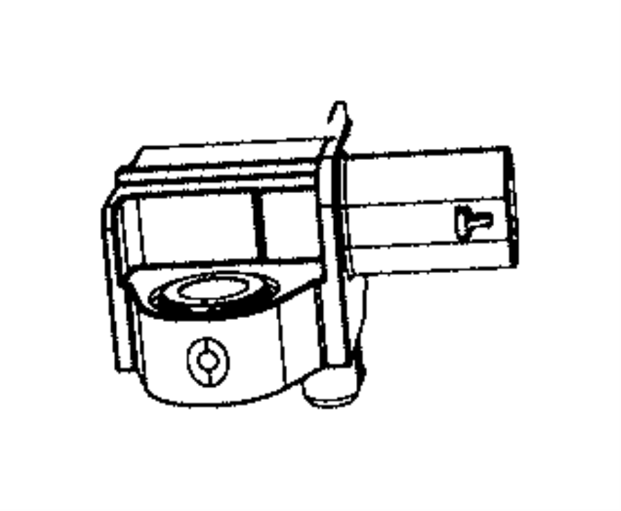 Chrysler Voyager Air Bag Impact Sensor (Front