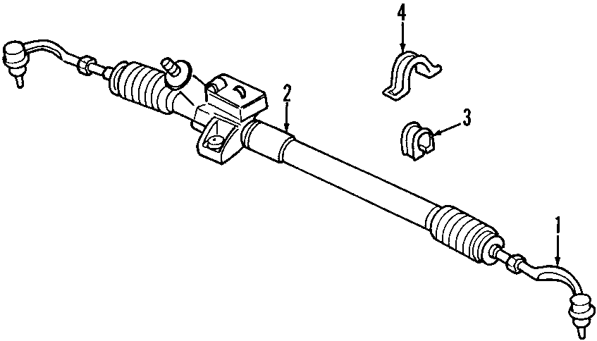 Chrysler Concorde Rack and Pinion Control Valve. All