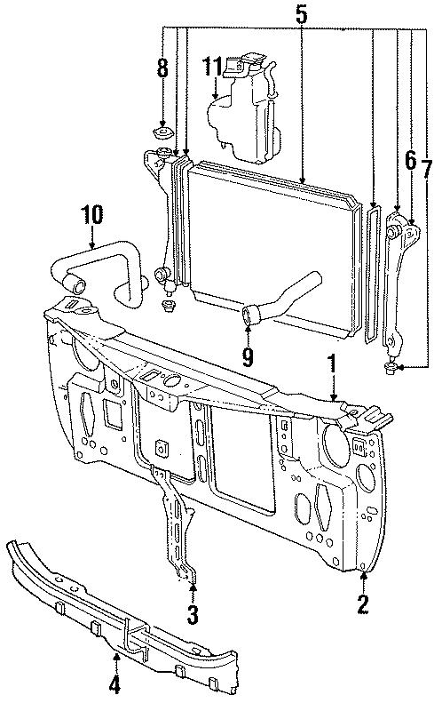 Chrysler LeBaron Lower hose. Upper hose. Models, RADIATOR