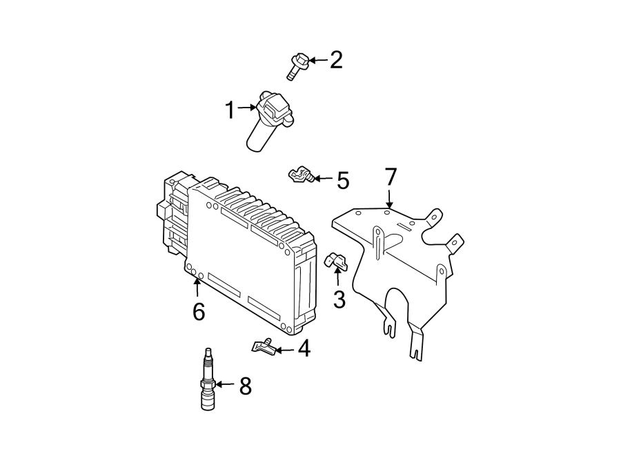 Chrysler Pacifica Module. Pcm. Powertrain control. 3.8