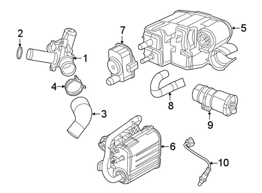 Jeep Wrangler Egr valve. Grand cherokee; 3.6l. Pacifica
