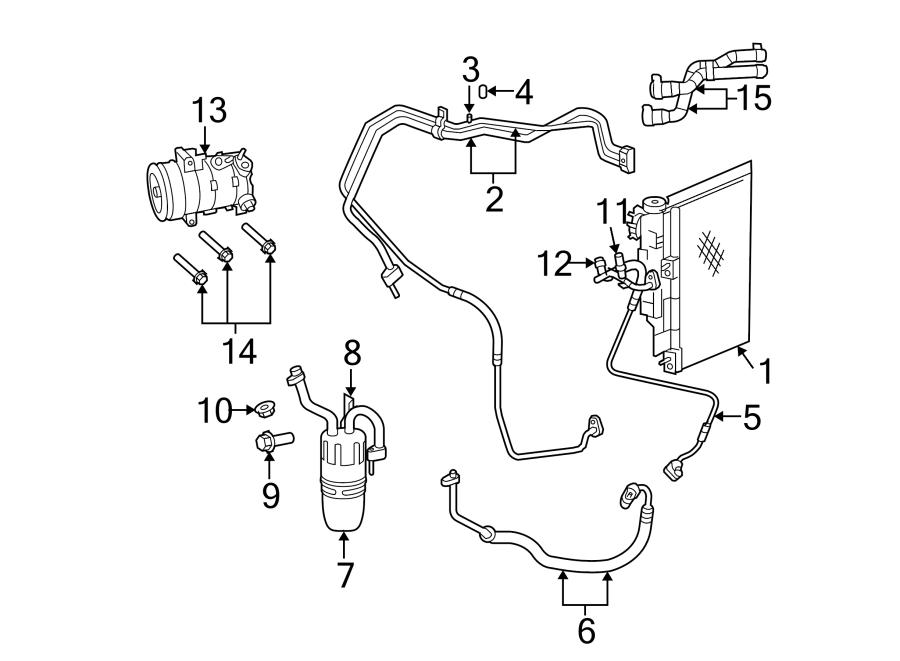 Dodge Avenger Hvac heater hose. Make, liter, repair