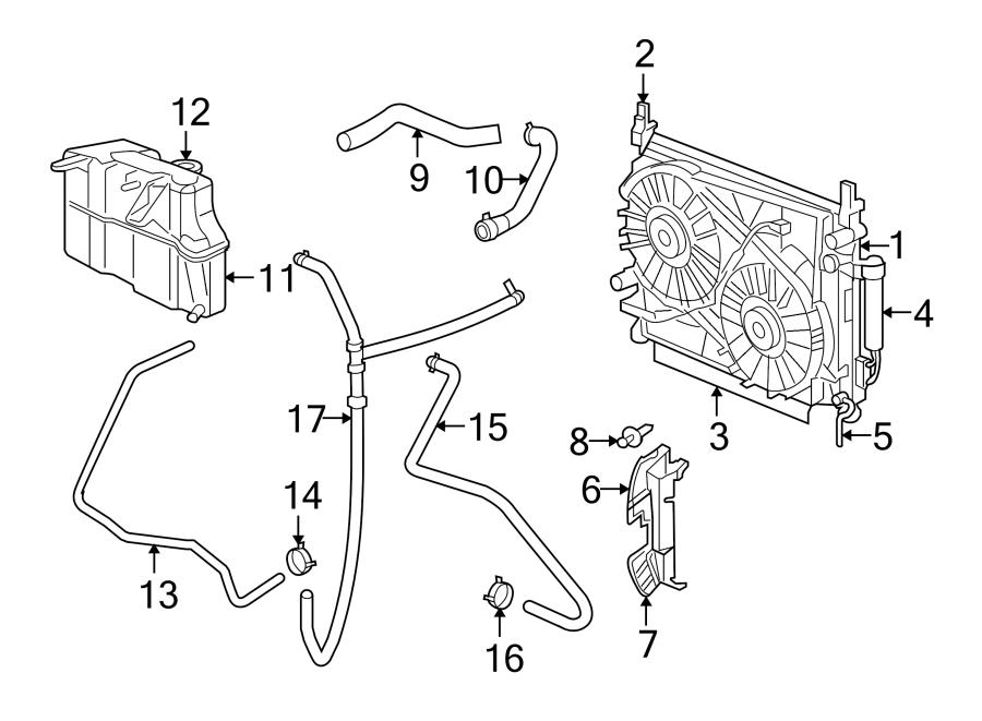 Dodge Charger Radiator Coolant Hose. 2.7 & 3.5 LITER. 3.5