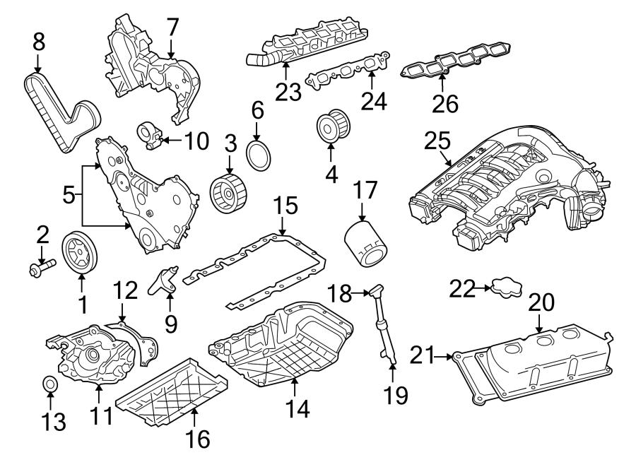 Chrysler 300 Engine Intake Manifold. 3.5 LITER. Charger