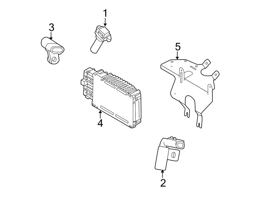 Dodge Intrepid Engine Control Module. 2.7 LITER, all
