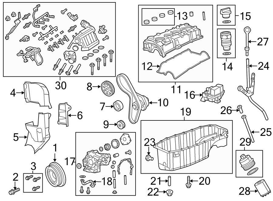Dodge Dart Engine Crankshaft Pulley. 1.4 LITER, W/TURBO